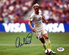 Abby Wambach Autographed 8x10 Photo Team USA PSA/DNA #Z86757