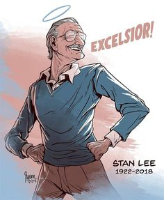 Comic Book Legend Stan Lee is no more with us. Stan Lee was one of the most famous comic book writes and publisher. Lee is the king of cameo, his cameo is the next big thing after the Marvel Dc Comics, Marvel Fanart, Hero Marvel, Marvel Memes, Marvel Avengers, Marvel Comic Books, Captain Marvel, Comic Art, Comic Manga