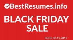 Professional Resume Templates & Resume Services Black Friday 2017  Black Friday 2017 is here! Get 45% discount on everything in the shop by using the code in the video!  Go to bestresumes.info/shop. You can get professional resume templates, resume critique and resume review. The code applies to all resume templates.