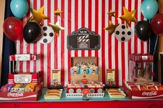 Movie Party Ideas   Pretty Little Party Shop - Stylish Party & Wedding Decorations and Tableware