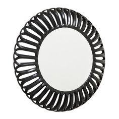 Murcia Semi Black Round Mirror 105x105cm [EE3832] - £256.20 : Mirrors for Every Interior from Exclusive Mirrors
