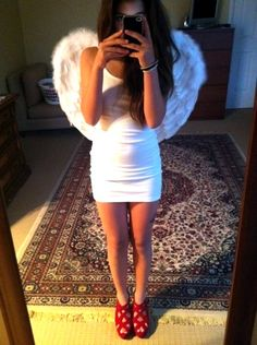 I'm a angel! #party
