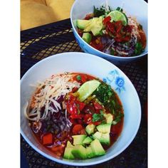 Super Chili Bowl! #VeganChili #Vegan #Chili