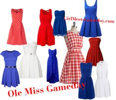 Ole Miss Gameday Dress