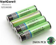 4PCS/lot 2017 Protected Original 18650 NCR18650B 3400mAh Rechargeable Li-lon battery with PCB 3.7V For Panasonic Flashlight  #Affiliate