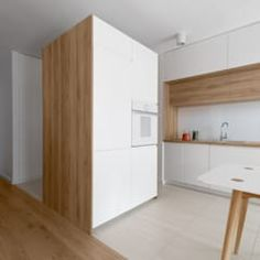 Idea entry separator of the house - - Kitchen Room Design, Modern Kitchen Design, Living Room Kitchen, Home Decor Kitchen, Interior Design Kitchen, Kitchen Furniture, Home Kitchens, Modern Kitchen Cabinets, Kitchen Flooring