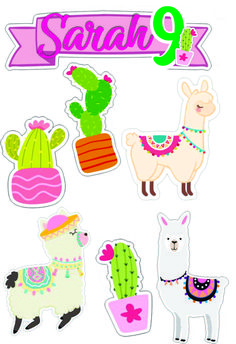 Llama Birthday, Baby Birthday, Holiday Program, School Labels, Holiday Crafts For Kids, Class Decoration, Woodland Party, Printable Stickers, Paper Toys