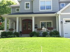 Sterling Homes Design Ideas that Fits With Your Choice Exterior House Siding, Grey Siding, Exterior House Colors, Certainteed Vinyl Siding, Outside House Colors, Sterling Homes, Home Exterior Makeover, Siding Colors, Modern Farmhouse Exterior