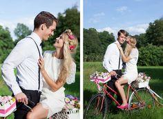 Fahrrad Hochzeit