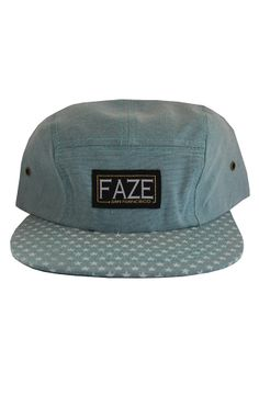 5c607545615 Fearless Stars 5-Panel Hat in Mint  5-panels-volleys  accessories