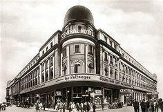 Berlin Central Hotel Friedrichst 143-149 Ecke Dorotheenstrasse in den 20ern