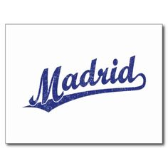 ==> reviews          	Madrid script logo in blue distressed postcards           	Madrid script logo in blue distressed postcards you will get best price offer lowest prices or diccount couponeReview          	Madrid script logo in blue distressed postcards Here a great deal...Cleck Hot Deals >>> http://www.zazzle.com/madrid_script_logo_in_blue_distressed_postcards-239603185281806591?rf=238627982471231924&zbar=1&tc=terrest