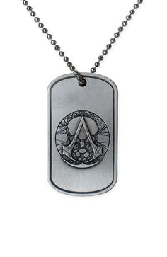 Especially developed for the Modern Assassins, the Assassin's Creed - The Recon Military necklace is directly inspired by the dog tags worn by the military and Special Forces units.