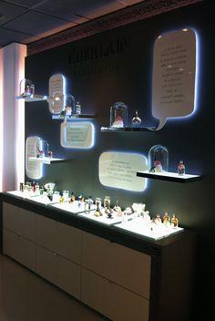 Design PopUp Store Bon marché Paris Guerlain / Design Laureandrieux.com