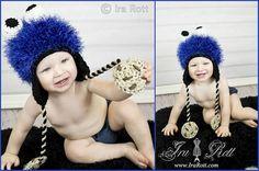 hats, crochet hat, monster hat, cookie monster, handmad gift, cooki monster, crochet monster, blues, crochet sugar