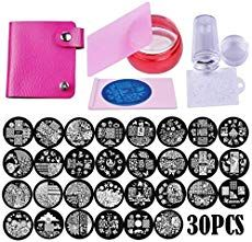 Biutee Nail Stamping Plates Set Nail Plates bag Holder Flower Animal Pattern Nail plate Template Image Plate Stencil Nails Tool -- You can find more details by visiting the image link. (This is an affiliate link) Stamping Nail Polish, Nail Art Stamping Plates, Nail Plate, Gel Polish, Nail Art Tools, Nail Art Diy, Cool Nail Art, Patrick Nagel, Nail Manicure