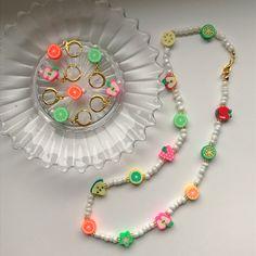 Trendy Jewelry, Summer Jewelry, Cute Jewelry, Jewelry Crafts, Jewelry Accessories, Fashion Jewelry, Bead Jewellery, Beaded Jewelry, Beaded Bracelets