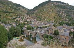 Gorges du Tarn - Sainte Enimie Frankrijk.
