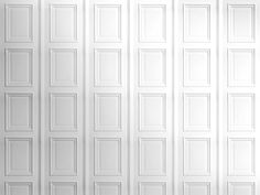 Mineheart White Panelling Wallpaper by Young & Battaglia - Chaplins