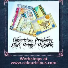 Colouricious Printology residential course in U. Come on our stitched collage course in March 2018 Textile Recycling, Creative Textiles, Textile Art, Hand Stitching, Sewing Projects, Workshop, March, Collage, Embroidery