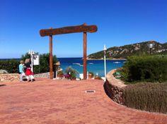 Baja Sardinia, spiaggia principale