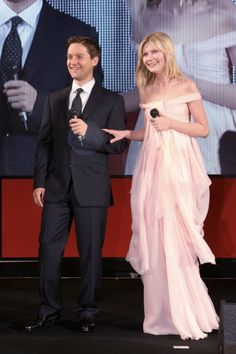 Kirsten Dunst and Tobey Maguire at event of Spider-Man 3 (2007)