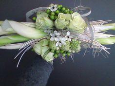 bruidsboeket - lang horizontaal falenopsis boechout