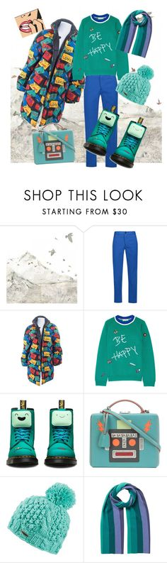 """""""Winter Hike"""" by maralyncampbell ❤ liked on Polyvore featuring WALL, Étoile Isabel Marant, Yves Saint Laurent, Mira Mikati, Dr. Martens, Mark Cross, Dakine and EAST"""