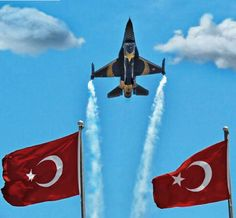 TURKEY'S REPUBLIC DAY, 29 OCTOBER 2015, Solo Turk flying.