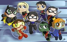 Young Justice by CottonKittie Young Justice Invasion, Young Justice Robin, Nightwing, Dc Comics, Mickey Mouse, Deviantart, Disney Characters, Artwork, Artist