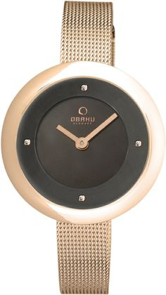 Obaku V162 Lady Rose Gold ref. number V162LXVNMV