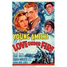 Love Under Fire U Canvas Art - (24 x 36)