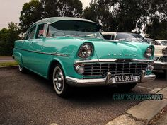 1961 EK Holden - This model actually had the largest size fins for any Holden model. Holden Australia, Australian Cars, Old Cars, Cars And Motorcycles, Muscle Cars, Vintage Cars, Dream Cars, Chevy, Classic Cars