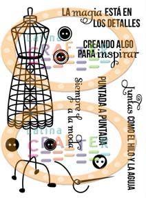 """New July Stamp set from #latinacrafter  """"La magia está en los detalles"""" Este set es fantástico!!! con él hice el proyecto con el que participo en el concurso #latinacrafter en pinterest (2013)"""