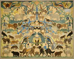 Cutout of Animals, second quarter 19th century - Gift of Edgar William and Bernice Chrysler Garbisch