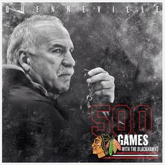 Congrats Coach Q for 500 and for that awesome stache