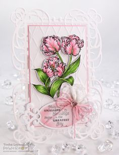 Stamp Talk with Tosh: Power Poppy May Release: Tulips Digital Stamp from Power Poppy!