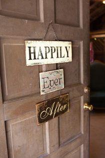 Door to the bridal suite !