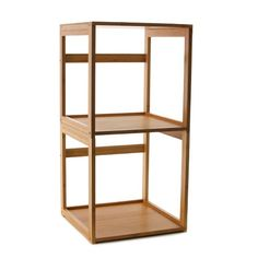 Bamboo Stackable Cube / Storables ($27)