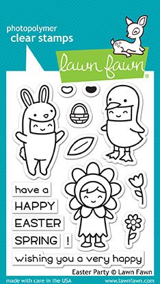 LAWN FAWN: Easter Party Lawn Cuts Die Set Lawn Cuts custom craft dies are high-quality steel, made in the USA, and are compatible with most die cutting machines! This Package includes Easter Party Lawn Cuts: eight steel dies. Journaling, Lawn Fawn Blog, Bear Card, Woodland Critters, Lawn Fawn Stamps, Easter Party, Easter 2018, Friendship Cards, Hoppy Easter
