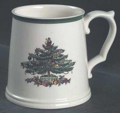 Spode, Christmas Tree (Green Trim) - Page 1 Christmas China, Spode Christmas Tree, Christmas Dishes, Christmas Ornaments, Royal Tea, Christmas Table Settings, Mugs, Crystals, Tableware
