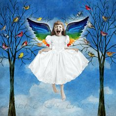"""i want to sing like the birds sing, not worrying about who hears or what they think."" -rumi ~ Beth conklin"