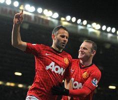 Ryan Giggs & Wayne Rooney, Manchester United