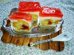 Ciasto bez pieczenia z rogalikami Pudding, Ethnic Recipes, Food, Custard Pudding, Essen, Puddings, Meals, Yemek, Avocado Pudding