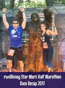 Check out my runDisney Star Wars Half Marathon 2017 Race Recap. We had a great time running through EPCOT, Hollywoord Studios, and Animal kingdom during this race in Orlando, Florida. Lots of character stops too!