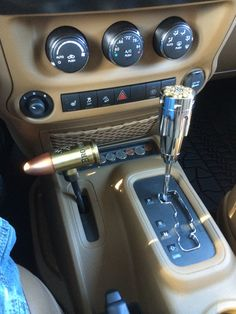 Bullet shifter knobs in my 2013 jeep wrangler