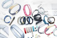 Gallery: Meet Jawbone's new wearable, the Wearable Device, Wearable Technology, Sketch Inspiration, Design Inspiration, Jawbone Up, Coaching, Industrial Design Sketch, Design Firms, Ios Design