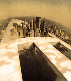 Superstudio - Monument continue - L'Implication de Superstudio était manifestement didactique, d'analyser et d'anéantir la discipline de l'architecture en utilisant des moyens «populaires» de l'illustration et de la littérature de consommation. Entre 1969 et 1970, ils ont élaboré une ligne extrême de la pensée sur les possibilités de l'architecture comme instrument pour parvenir à la connaissance et de l'action par le biais d'un modèle d'architecture de l'urbanisation totale.