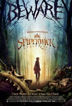 The Spiderwick Chronicles (2008) -  Adventure | Family | Fantasy - Upon moving into the run-down Spiderwick Estate with their mother, twin brothers Jared and Simon Grace, along with their sister Mallory, find themselves pulled into an alternate world full of faeries and other creatures. Stars: Freddie Highmore, Sarah Bolger, David Strathairn ♥ ♥ ♥