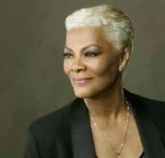 Dionne-Warwick Chic Short Hair Styles for Older Women Chic Short Hair, Short Grey Hair, Short Gray Hairstyles, Short Haircuts, Girl Hairstyles, Natural Hair Styles, Short Hair Styles, Black Celebrities, Celebs
